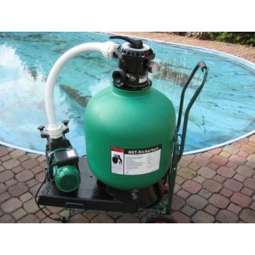 Leis pool filter 19m sandfilteranlage von hst test for Garten pool testbericht
