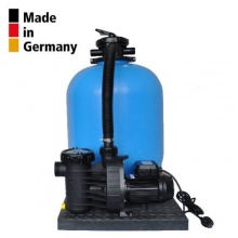 Sandfilteranlage PoolsBest Aqua Plus Pool Filter Bild 1