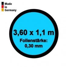 Pool Innenhülle Rund 3,60m x 1,10m Folienstärke 0,30mm Bild 1