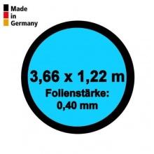 Pool Innenhülle Rund 3,66m x 1,22m Folienstärke 0,40mm Bild 1
