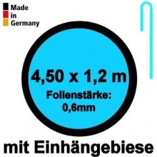 Pool Innenhülle Rund 4,50m x 1,20m Folienstärke 0,60mm Bild 1