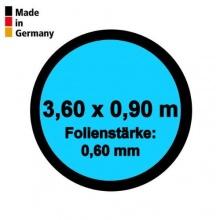 Pool Innenfolie Rund 3,60m x 0,90m Folienstärke 0,60mm Bild 1