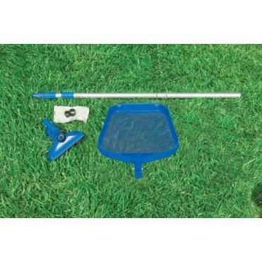 Intex poolreinigung reinigungsset mit kescher test for Garten pool testbericht
