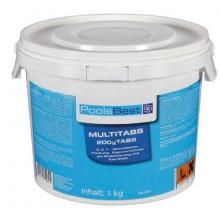 5 Kg - PoolsBest Chlor Multitabs 5in1,Poolreiniger  Bild 1