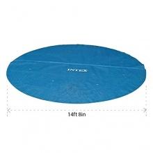 Intex Solarabdeckplane für Easy,Frame, Blau,457 cm Bild 1