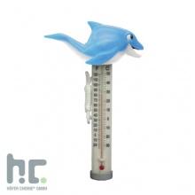 Thermometer Delphin Poolthermometer Höfer Chemie Bild 1