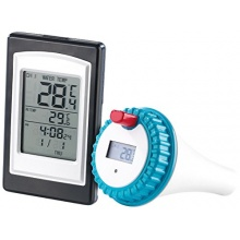 infactory Raum- und Pool-Thermometer PT-300 Bild 1