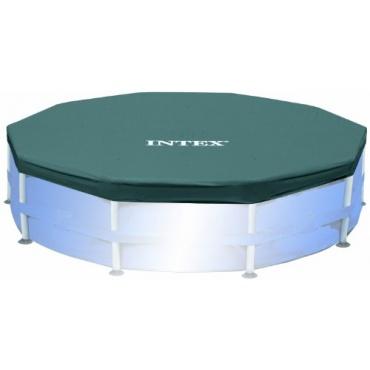 intex poolabdeckung f r frame pool 305 cm test. Black Bedroom Furniture Sets. Home Design Ideas