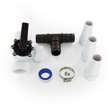 Miganeo Premium Bypass Set - Adapter für Poolheizung  Bild 1