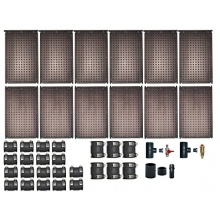 Poolheizung OKU Solarabsorber Set bis 24 m Bild 1