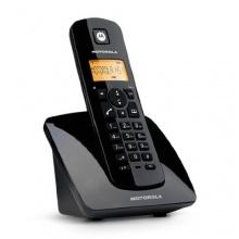 Motorola C401 Schnurlostelefon schwarz Bild 1