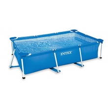 INTEX Pool Family 300 x 200 x 75 cm Stahlrahmen Pool Bild 1