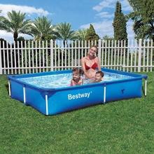Stahlrahmen pools im test auf experten test for Bestway pool folie