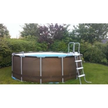 Bestway 12801nl 02 frame pool stahlrahmen test for Garten pool testbericht