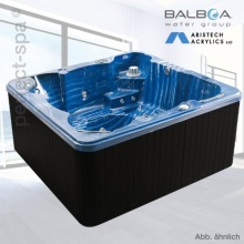 perfect-spa Whirlpool Boston Indoor,Outdoor 6 Pesonen Bild 1