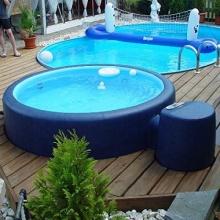 Softub Whirlpool Resort 5-6 Pers. Saphire Blue Pearl Bild 1