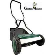 Gartenmeister Handrasenmäher mit Fangsack Bild 1