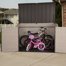 Lifetime Kunststoff Mülltonnen-Box, Aufbewahrungsbox Bild 1