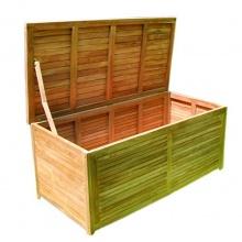 Gartenbox Holz Aufbewahrungsbox  145x70x65cm Bild 1