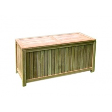 Gartenbox Holz offene Lattung Aufbewahrungsbox  Bild 1