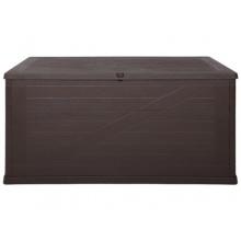 Kissenbox Wood braun, Auflagenbox von Ondis24 Bild 1