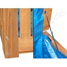 Gartenmöbel,Auflagenbox mit Regenschutz Hartholz,RWH Bild 1