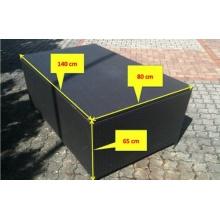 XXL RATTAN KISSENBOX, 140 x 80 x 65cm,Living Everyday Bild 1