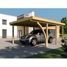 Carport Flachdach DAYTONA I 400 x 600 cm PRIKKER Bild 1