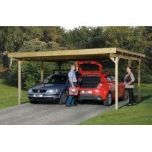 Carport Primus Duo von Weka Bild 1