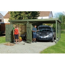 Carport Plus - Modell, Plus 3, von Weka Bild 1