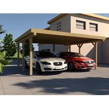 Carport Flachdach SILVERSTONE II 600x500 cm PRIKKER Bild 1