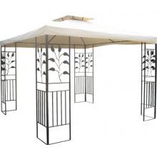 WASSERDICHTER Gartenpavillon 3x3m TOSKANA hot-stock Bild 1