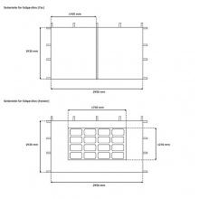 JAROLIFT Falt-Gartenpavillon 3x3 m Basic  Bild 1