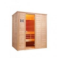 Infraworld Gartensauna Vitalis 184 FH Kombi - Sauna Bild 1
