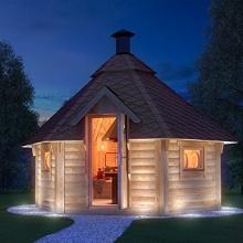 Grillhütte wählbar inkl. Grillanlage ca. 9m2,ISIDOR Bild 1