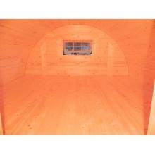 MAXI SCHLAFFASS Gartenlaube 4x2,2m Grillhütte,FASSWELT Bild 1