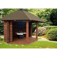 JUNIT RB-GP Garten Grill Pavillon ca. 10m2 Grillhütte  Bild 1
