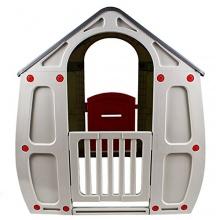 TobiToys Kinderspielhaus für draußen Bild 1