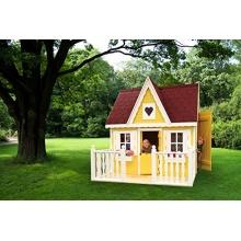 Promadino Kinderspielehaus Schwalbennest mit Veranda Bild 1