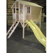 Kinderspielhaus TOBI Gartenhaus von haebelholz Bild 1
