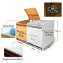 Mülltonnenbox Holz 240 L Gartenbox von Serina Bild 1