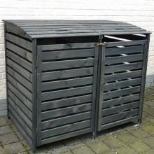 Mülltonnenbox VARIOII Müllbox für 2 Mülltonnen,PRIKKER Bild 1