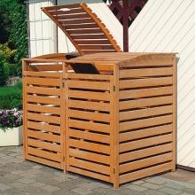 PROMEX Mülltonnenbox Vario III für 2 Tonnen Bild 1