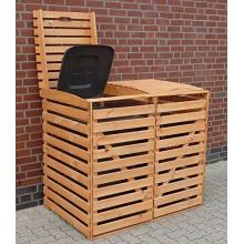PROMADINO Mülltonnenbox braun Bild 1