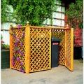 PROMEX Mülltonnenbox für 2 Tonnen Bild 1
