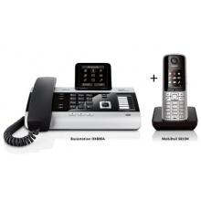 Siemens Gigaset DX800A mit AB + S810H Duo ISDN  Bild 1