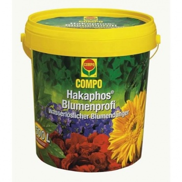 Compo 12107 Hakaphos Blumenprofi 1200 g,Blumendünger  Bild 1