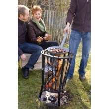 Barbecook 223.9710.000 Runder Feuerkorb Bild 1