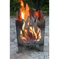 Feuerkorb FLAMME Gr. L aus Stahl Bild 1