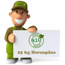 KAS Hornspäne 25 kg Naturdünger Gartendünger Bild 1
